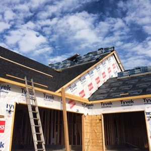 process of roof replacement