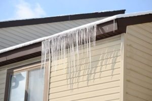 Ice Dams Damage