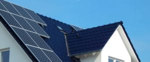 Solar Panel on Roofing System