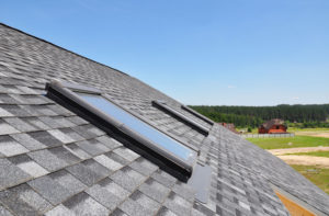 arranged roof shingles roofing company skylight installation